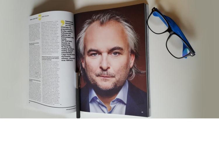 Coaching to zajęcie luksusowe – wywiad z Robertem Kroolem dla Businessman.pl