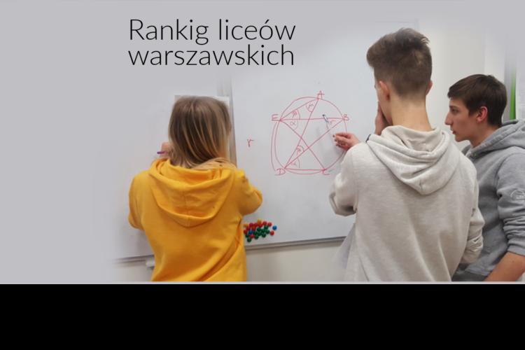 Ranking liceów warszawskich